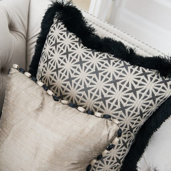 Patterned Cushion | The Silkroad