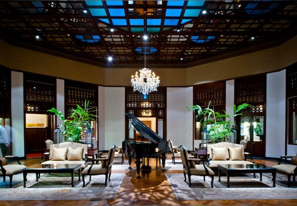 The Grand Hotel Lobby | The Silkroad