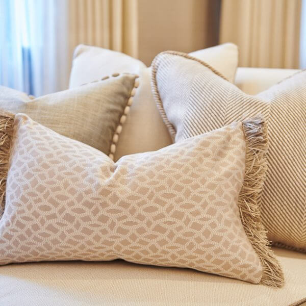 Patterned Cushions | The Silkroad