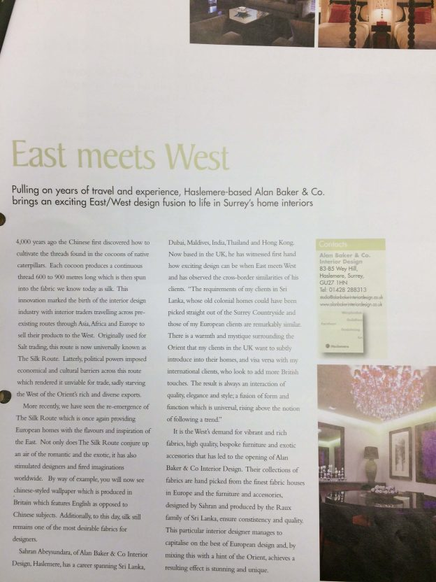 East Meets West Article | The Silkroad