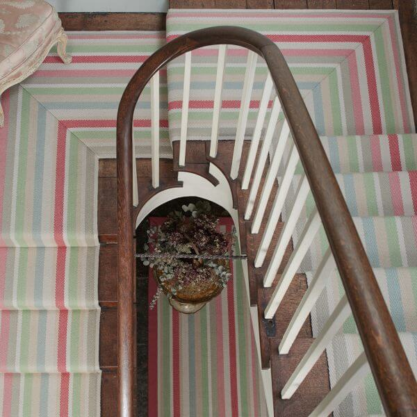 Colourful Stair Runner | The Silkroad